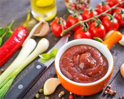 Salsa de Tomate y Pimiento